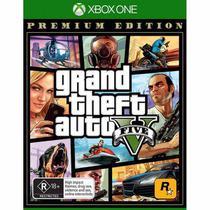 Game Grand Theft Auto V (GTA 5) Premium Edition (Edição Premium) - Xbox One -
