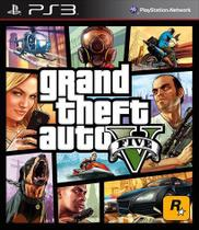 Game Grand Theft Auto V - PS3 Mídia Física Lacrado - Rokstar