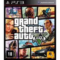 Game Grand Theft Auto V - PS3 - Playstation