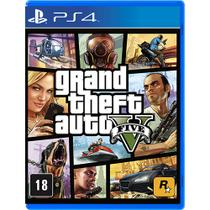Game Grand Theft Auto V - PS4 - Rockstar games