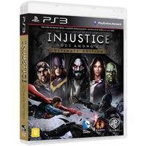 Game Injustice Gods Amongus us Ultimate Edition - PS3 - Playstation