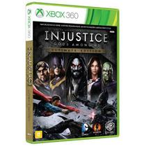 Game Injustice - Gods Amoung us Ultimate Edition - XBOX 360 - Microsoft