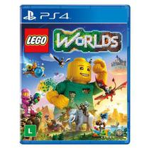 Game Lego Worlds Br - PS4 - Snd
