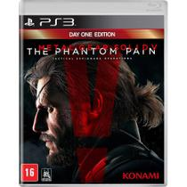 Game Metal Gear Solid V The Phantom Pain - PS3 - Playstation