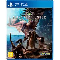 Game monster hunter world - ps4 - Capcom