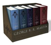 Game Of Thrones Leather-Cloth Boxed Set - Song Of Ice And Fire Series - Bantam books