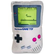 Game Pillow Toy: Almofada Gamer Console Videogame Game Boy Geek Nerd - Camaleão preto