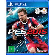 Game Pro Evolution Soccer 2015 - PS4 - Games