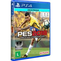 Game Pro Evolution Soccer 2018 - PS4 - Konami