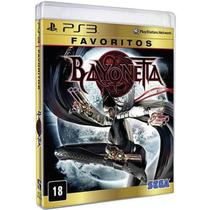 Game Ps3 Bayonetta Favoritos - Sony