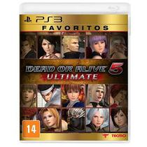 Game Ps3 Dead Or Alive 5 Ultimate Favoritos - Sony