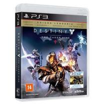 Game Ps3 - Destiny - The Taken King - Edicao Lendaria:destiny Espansao I, Espansao Ii, The Taken Kin - Sony