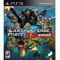 Game Ps3 Earth Defense Force 2025 Br - Sony