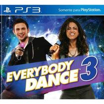 Game Ps3 Everybody Dance 3 - Sony