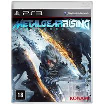 Game Ps3 Metal Gear Rising - Revengeance - Sony
