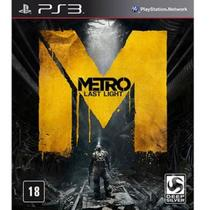 Game Ps3 Metro Last Light Limited - Sony