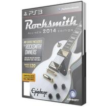 Game Ps3 Rocksmith 2014 - All - New Edition - Sony