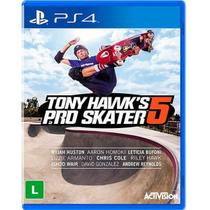 Game Ps4 Tony Hawks Pro Skater 5 - Activision