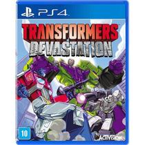 Game Ps4 Transformers Devastation - Capcom