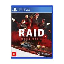 Game Raid: World War Ii - Ps4 - Sony