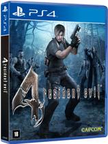 Game Resident Evil 4 Remastered - PS4 - Capcom