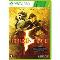 Game Resident Evil 5 Gold Edition - XBox 360 - Capcom