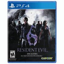 Game Resident Evil 6 - PS4 - Capcom