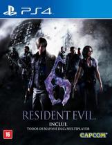 Game resident evil 6 - ps4 - Capcom