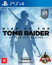 Game rise of the tomb raider - ps4 - Square enix