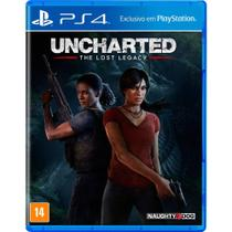 Game Uncharted The Lost Legacy - PS4 - Playstation