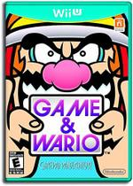 Game & Wario Nintendo Wiiu Midia Fisica -