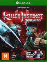Game Xbox One Killer Instinct Pacote Combo Breaker - Microsoft studios