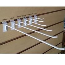 Gancho Painel Canaletado 10cm Com 50 Unidades Branco - Loja do Gancho