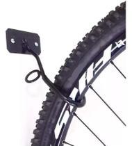 Gancho Suporte Parede Pendurar Bicicleta Vertical C/ Parafusos - Tubo Cross