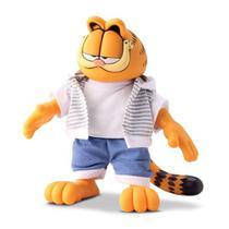 Garfield Brinquedo Boneco Infantil Um Gato Super Macio 27cm - Beetoys