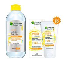 Garnier Skin Cuidados Faciais Anti-oleosidade Kit  Água Micelar + Hidratante Facial Matte -