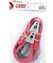 Garra de Bateria Cabo Bateria para Chupeta 2,5m - 350A Ruchi - Vermelho e Preto -