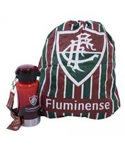 Garrafa 500ml Com Mochila Tipo Saco - Fluminense - Mileno