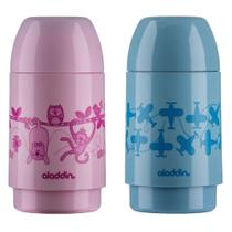 Garrafa Aladdin Kids 0,25 Litro 3097 Rolha Decorada Sortida -