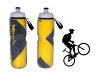 Garrafa Bike Caramanhola Squeeze Térmico Bicicleta 700ml Top - Fratelli