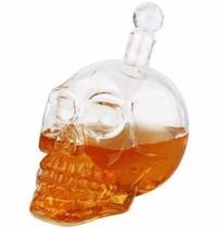 Garrafa Caveira Crânio Vidro  350ml Crystal Head - Importado