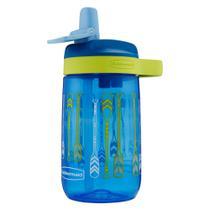 Garrafa de água infantil - Azul 414ml - Rubbermaid - Bico -