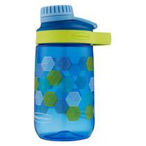 Garrafa de Água Infantil - Azul 414ml - Rubbermaid - Rosca -