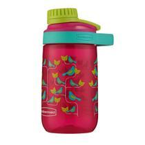 Garrafa de água infantil  Tampa rosqueável 414ml  Rubbermaid -