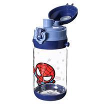 Garrafa de Água, Modelo Marvel, Homem Aranha/Spiderman - 520ml - Stylej