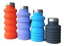 Garrafa Silicone Retrátil Dobrável 500 Ml BPA Free - B2T