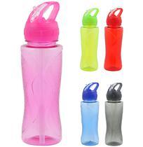 Garrafa Squeeze De Plastico Pet Sport Colors Com Tampa 600Ml - Wellmix