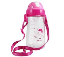 Garrafa Squeeze Pequeninos 480ml Jacki Design Cute Pink -
