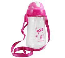 Garrafa Squeeze Pequininos 480ml Jacki Design Hello Pink -