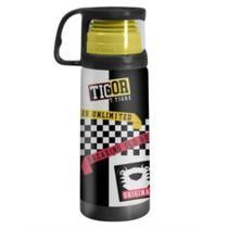 Garrafa Squeeze Termica 350ml Com Caneca Tigor T Tigre Uatt - Uatt